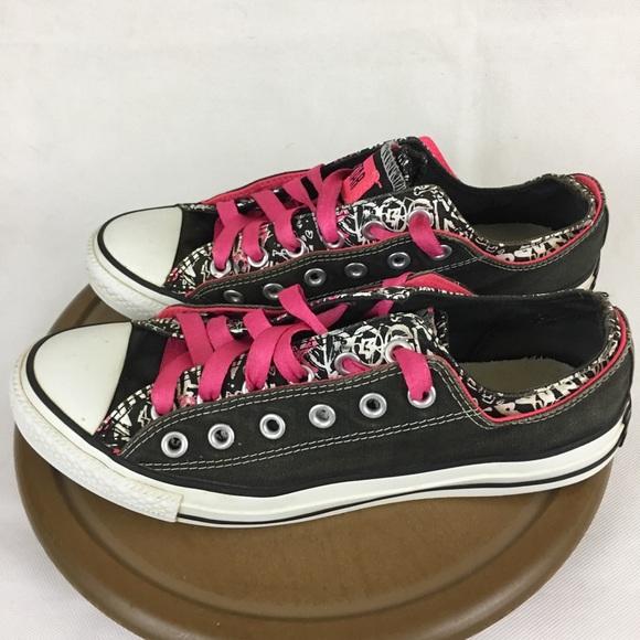4804f8f3da74 Converse Shoes - Converse All Star Punk Rock Girl Low Top Shoes 10